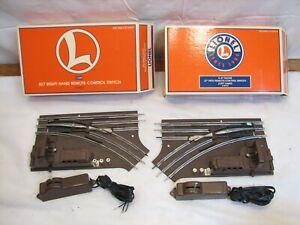 Lionel O27 Right & Left Hand Remote Control Switch Track 5121/5122 1122R 1122L