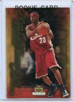 Lebron James Rookie Card 2003-04 Upper Deck Freshman Season #45