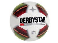 Derbystar Hyper TT Fußball Training-Fussball Dual-Bonded Gr.5 weiß Teamsport
