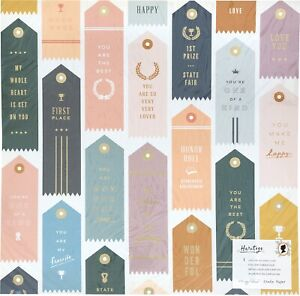 """Maggie Holmes Heritage Double-Sided Foiled Cardstock 12""""X12""""-Trophies W/Gold Foi"""