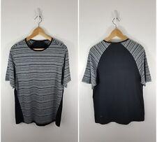 LULULEMON Men's Striped Tee Shirt Size Medium