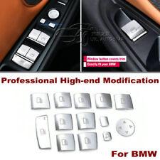 New Window Lift button cover trim Sliver For BMW X1 X3 X4 X5 X6 BMW 3 5 7 Series