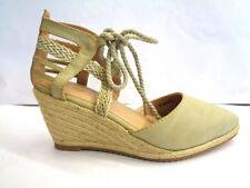 Wedge Standard Width (D) Lace-up Heels for Women