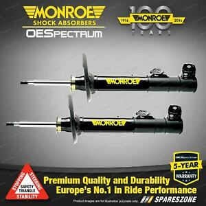 Front Monroe OE Spectrum Shocks for Mercedes Benz C Class W203 S203 Excl. Sport