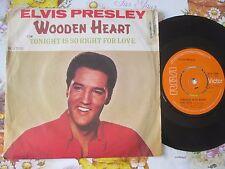 Elvis Presley – Wooden Heart Label: RCA Victor RCA 2700 UK Vinyl 7inch Single