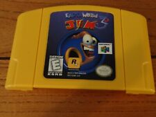Earthworm Jim 3D - Authentic Nintendo 64 - 100% Tested and Cleaned - Loose