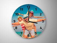 Personalised Glass Photo Clock
