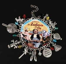 NEW Wizard of Oz Silver Plated Charm Bracelet - Perfect Gift for Christmas