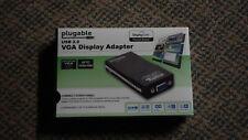 Plugable USB 2.0 VGA Display Adapter USB-VGA-165 -- Easy Multiscreen
