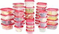 Plastic Food Storage Containers 80 Piece Set 40 Container 40 Lids Utopia Kitchen