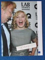 """Original Press Photo - 8""""x6"""" - Madonna & David Collins - 2007"""