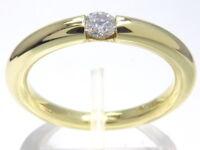Goldring Ring bague 585 GOLD Brillant 14 Karat Diamant brilliant Art Deco oro or