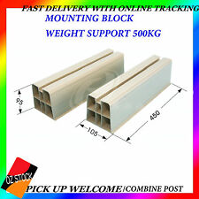 Mounting Block Air Conditioner Weight Support 500kg Excellent Quality Ground