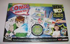 Ben 10 Alien Force Comic Maker Kit Brand New Sealed Free p&p