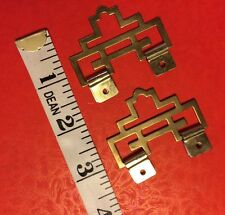 2pcs Chinese Metal PROSPERITY ART Picture Wall Scroll Hanger