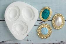Silicone Mould, Pearl Brooch, Wedding Brooches, Food Safe Ellam Sugarcraft  M157
