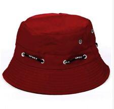 ANT Bucket Waway Cap Adjustable and Reversible Unisex Hat - RED