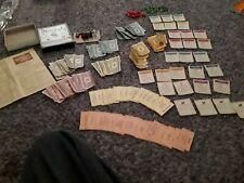 1935 Monopoly Popular Edition ORIGINAL WOODEN PIECES NO BOARD