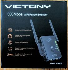 VICTONY WA305 WiFi Extender 300Mbps WiFi Signal Booster 2.4 G Frequency
