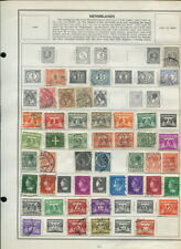 NETHERLANDS ON HARRIS ALBUM PAGES 1873 TO 1969!