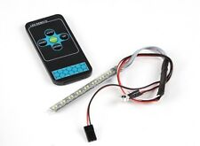 WHITE LED LIGHT STRIP WITH 12 FLASHING MODES & REMOTE CONTROL CAR TRUCK FPV RC