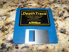 Deathtrack For Ibm (PC, 1989), Tandy 1000 And 100% Compatibles 3.5 Floppy Disk