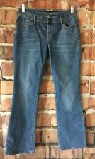 Old Navy Womens Jeans Size 6 Short Boot Cut Mid Rise Distressed Denim (J07)