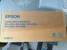 EPSON SO50010 DEVELOPER CARTRIDGE EPL-5700/5700I/5700L EPL 5800/5800L
