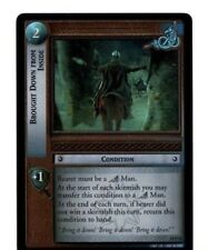 LORD OF THE RINGS LoTR  AE AGES END 19P24 BROUGHT DOWN FROM INSIDE CARD