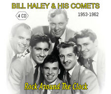 CD Bill Haley & His Comets : 1953-1962 - Rock around the clock - Coffret 4 CD