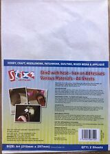Stix 2. Heat- iron on Adhesives various materials Including Transfer. Foils. A4.