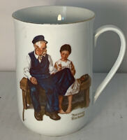 """VTG 1982 Norman Rockwell Museum """"The Lighthouse Keeper's Daughter"""" Mug"""