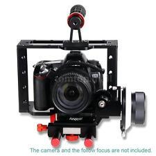 Andoer Camera Video Cage Kit+Top Handle Grip for Nikon Pentax Canon DSLR TM AM5O