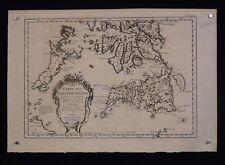 Jacques-Nicolas Bellin : Carte Géographieque îles Philippines 1752 Marine