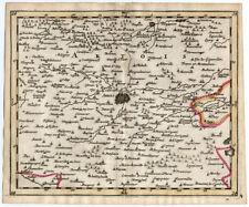 Rare Antique Map 24-FRANCE-ARRAS-LENS-HENIN-Sanson-Mortier-1701
