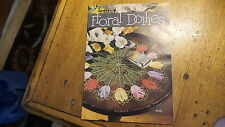 1950 Vintage Pattern Book FLORAL DOILIES #268 Crochet, Lovely Patterns!