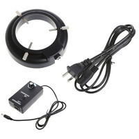 56-LED Adjustable Ring Light illuminator Lamp For STEREO ZOOM Microscope