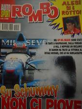 Auto & Sport ROMBO 35 1995 Gp Belgio Michael Schumacher non lo ferma la pioggia