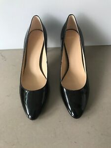 Cole Haan Women's Black Patent Leather Heels In As New Condition