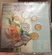 1997 SOUTH AFRICA Mint Set Brilliant Uncirculated - Arum Lilly - mint sealed OGP