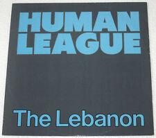 "UK Pressing HUMAN LEAGUE The Lebanon 12"" EP Record"