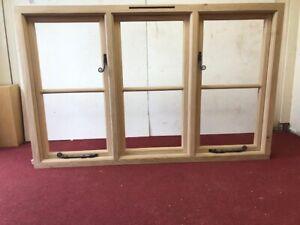 SOLID OAK CASEMENT WINDOWS MADE TO MEASURE