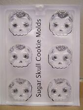 Day of the Dead Detailed Sugar Skull Cookie Mold - Soap, Chocolate, Crafts, etc.