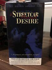 A Streetcar Named Desire (New Screener VHS) Jessica Lange Alec Baldwin