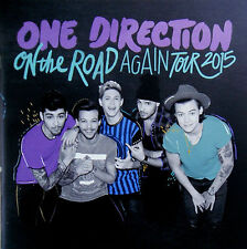 ONE DIRECTION / 1D * ON THE ROAD AGAIN TOUR PROGRAMME * BN&M! * ZAYN MALIK