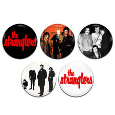 5x The Stranglers Band Punk Rock 25mm / 1 Inch D Pin Button Badges
