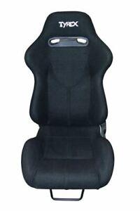 Raptor 4x4 Tyrex Sports Bucket Seat Black Fabric Off Road Racing Car Comfort