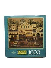 New Charles Wysocki 1000 Piece Puzzle Americana Old Main Street Sealed NOS