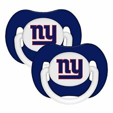 New York Giants Solid Pacifier (2 pack)