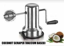 Stainless Steel Coconut Scraper Shredder Grater Vacuum Base